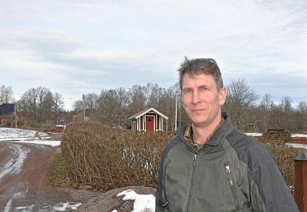 Karl-Johan Axelsson ingår i ett nätverk med andra markägare som engagerat sig i ärendet. Nu ska de träffas för att diskutera igenom beslutet, säger han. Arkivbild.