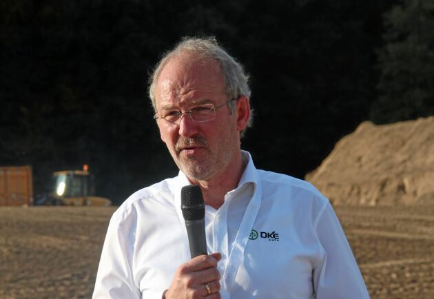 Jens Möller, VD för DKE-data GmbH, berättade om Agrirouters funktion.