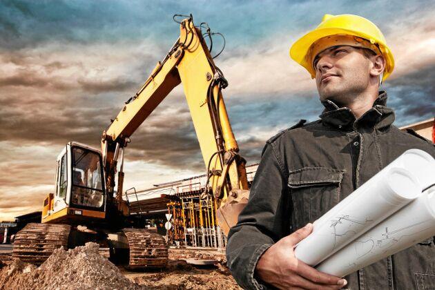 Civilingenjörsyrken inom bygg och anläggning toppar listan över yrken det råder störst brist på arbetskraft inom.