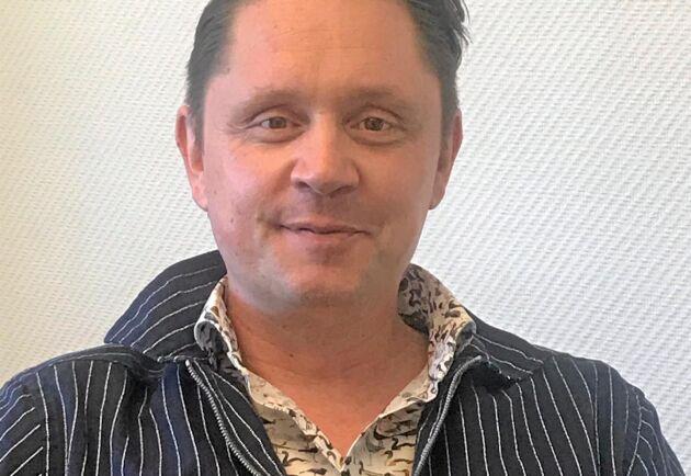 Mathias Granath är försäljningschef på Rosenqvist Irrigation som både tillverkar och saluför bevattningsutrustning för bland annat lantbruk.