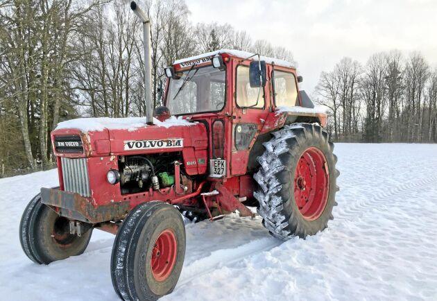 BM Volvo T 800 hade inte tillräcklig motoreffekt för att möta kraven på vissa marknader. Den nya T 810 med turbomotor gav ägaren en traktor mer högre potential.