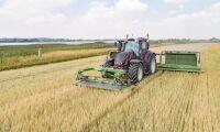 Kraftigt uppsving i traktorförsäljningen