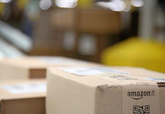 Såväl Amazon som andra stora e-handlare arbetar aktivt med att utveckla nya strategier för att minska åtgången av förpackningsmaterial, påpekar Credit Suisse.