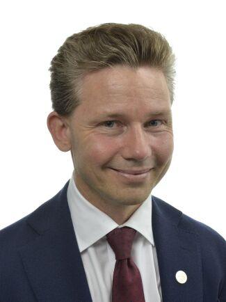 Pål Jonson (M), ordförande i försvarsutskottet.