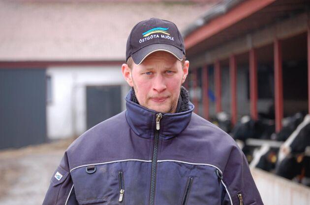 Anders Birgersson, ordförande för Glada Bonden.
