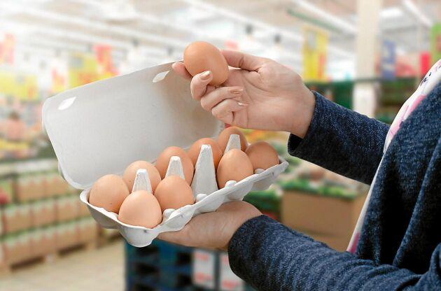 Stirra dig inte blind på bäst föredatumet. Ägg håller ofta mycket längre än så, om de får stå i kylen.
