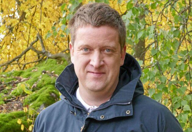 Jan Slotte är verksamhetsledare på Skogsvårdsföreningen Österbotten.