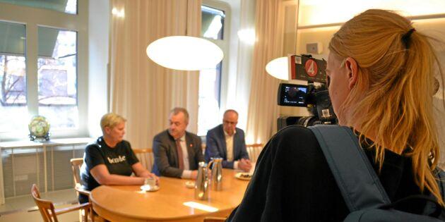 """Borgström kallad till Bucht om bondehot – """"Tar frågan på allvar"""""""