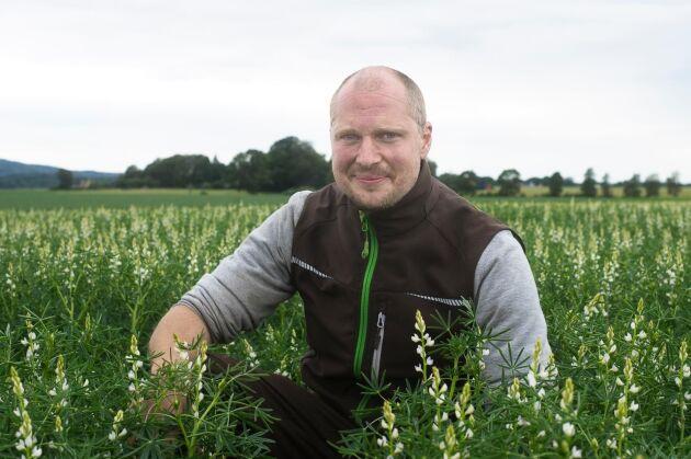 """""""Varför ska vi ge djuren mat som vi lika gärna kan äta själva"""", säger Gustaf Aldén."""