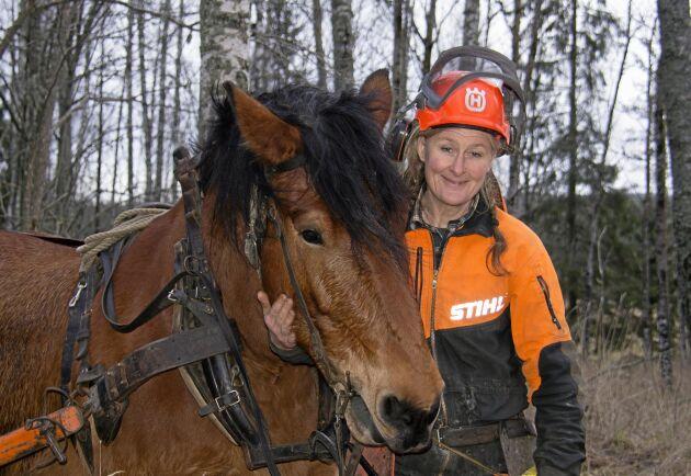 Företaget Bernttek AB drivs med ett stort mått av idealism från Cecilia Berntsson.