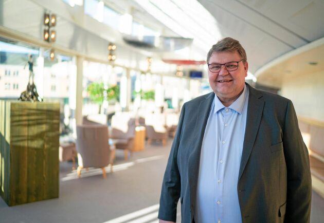 Peter Lundgren (SD) har ägnat sig mycket åt transportpolitik sedan han kom in i EU-parlamentet 2014.