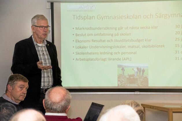 Det blev avslag för ansökan att återstarta naturbruksgymnasiet på Nuntorp i Dalsland. Beslutet ska överklagas.