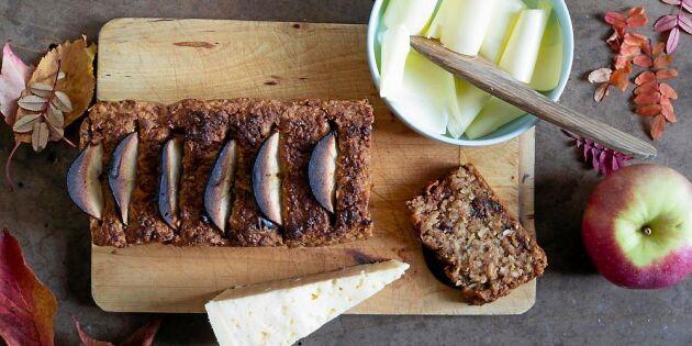 Norskt äppelbröd – lika god till frukost som till fikat