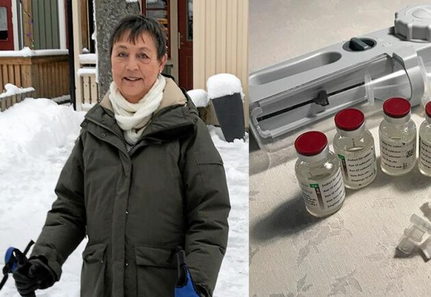 Infektioner som inte är farliga för andra kan vara livsfarliga för Annette Andersson som lider av en immunbristsjukdom. Med hjälp av specialutrusning behandlar hon sig själv hemma.