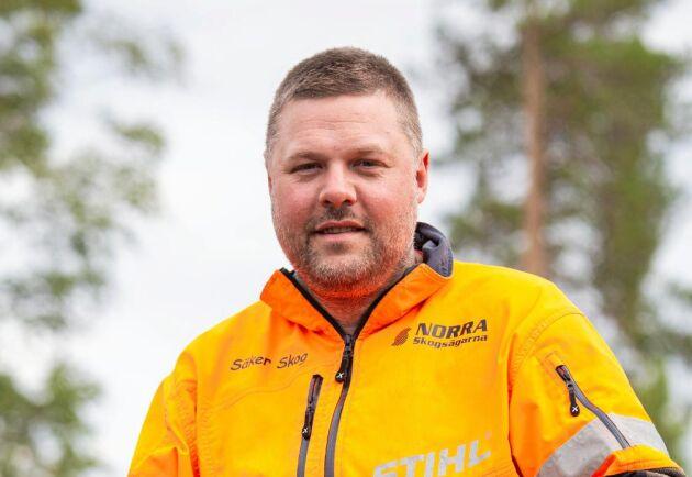 """""""Om jag skulle ha gjort detta i egen regi så hade jag nog lagt av för ett år sedan. Därför är jag stolt över Norra Skogsägarna som fortsätter satsningen"""", säger Benny Bäcklund."""