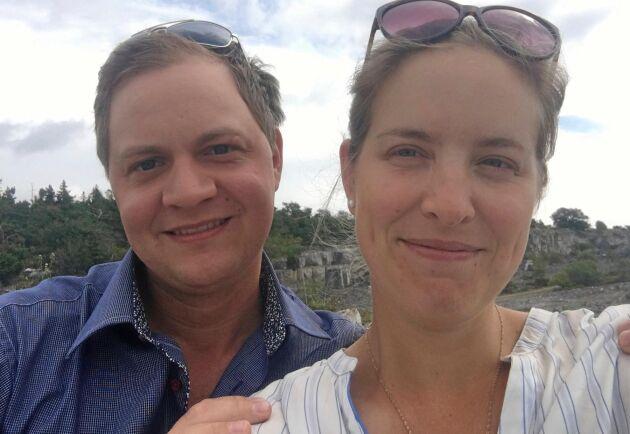 Lantbruksföretagarna Emmy och Henrik Ahlsten planerar att företaget ska växa och att de ska rekrytera fler medarbetare framöver.