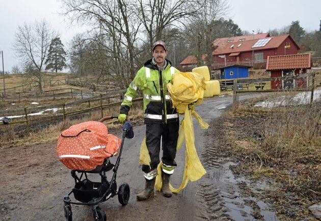Kommunens villkor är nära att knäcka Vilhelm Nilsson, arrendator till naturbetesmark i Hågadalen.
