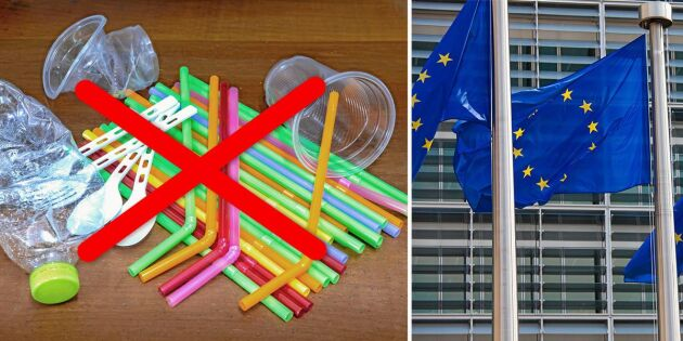 Nytt beslut: EU förbjuder engångsplast!