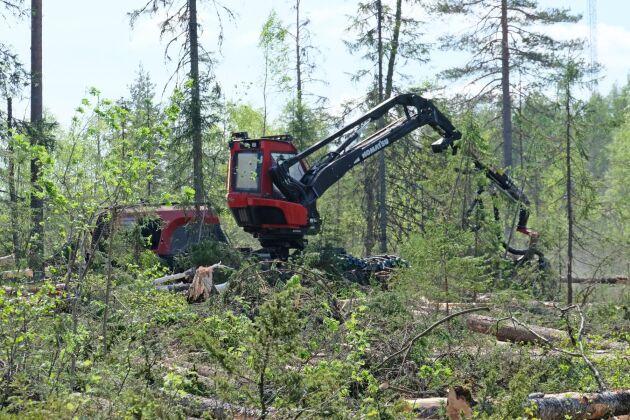 Sedan många år är det möjligt att gå in på Skogsstyrelsens webb och se planerade avverkningar.
