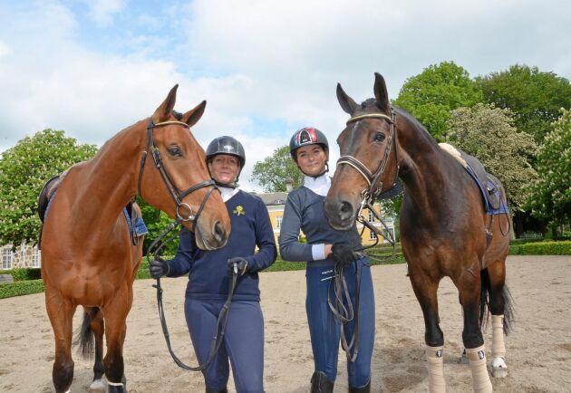 Både Anna Olsson och Anne Högtveit har lagt grunden för ett eget hästföretagande under året på unghästutbildningen på Flyinge.