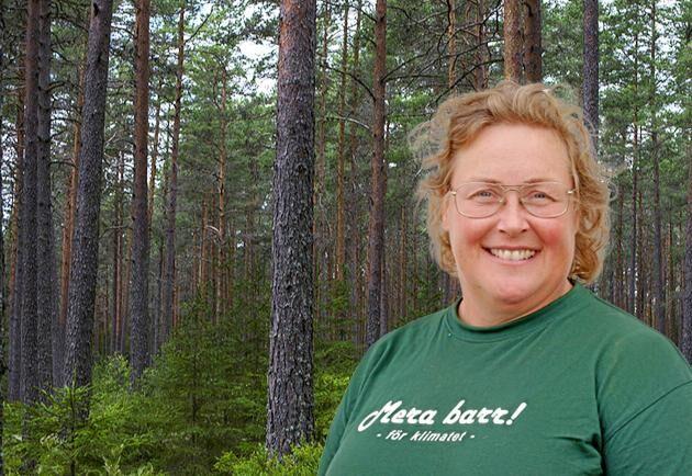 Jenny Karlsson, skogsägare och ordförande i LRF Norrbotten.