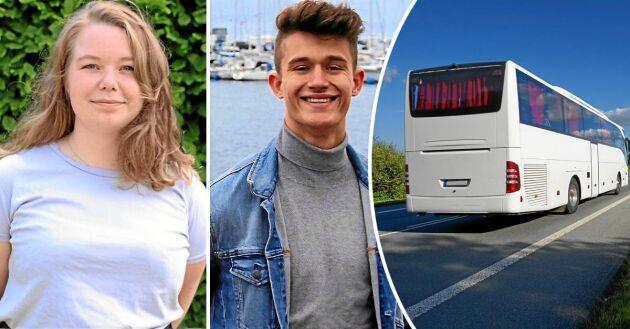 Eva Mörtsell, sexualpolitisk talesperson i CUF, och Teodor Lundvall, distriktsordförande CUF Skåne, menar att dåliga kommunikationer begränsar landsbygdens ungdomar.