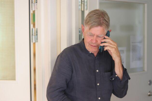 Kenneth Normark, spannmålsansvarig på BM Agri, skulle egentligen gå i pension tidigare men under sviterna efter skörden 2018 kände han ansvar att stanna kvar.