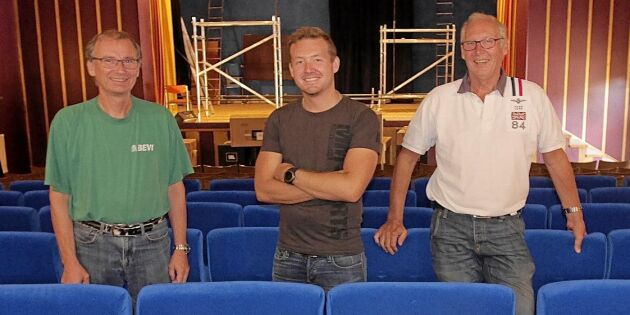 Lokala eldsjälar håller liv i älskade biografen i Alsterbro