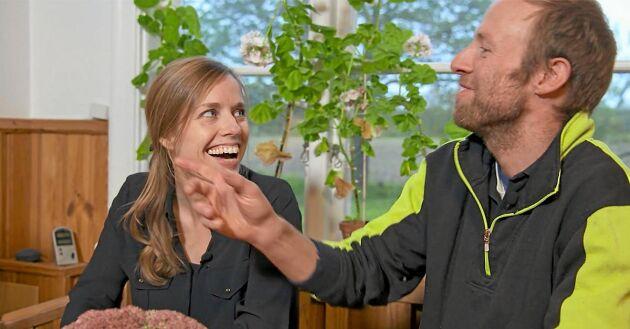 Andreas Sjöberg & Hanna Holgersson.