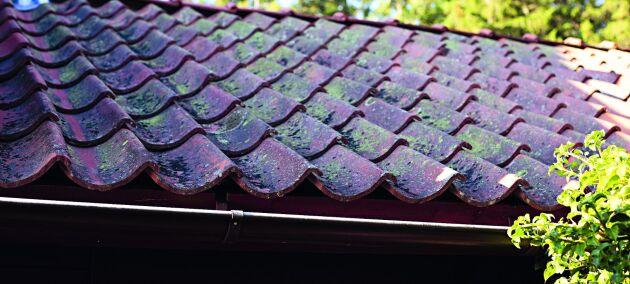 Lertegel är ett material som åldras vackert och som kan återanvändas många gånger. Om enstaka takpannor går sönder är de lätta att ersätta.