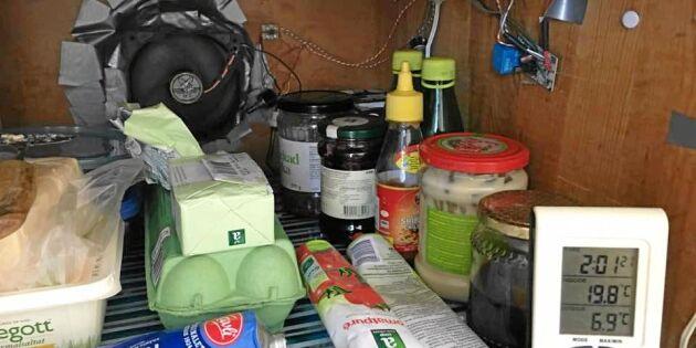 Så förvandlar du kallskafferiet till ett kylskåp