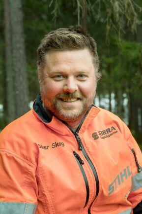 Benny Bäcklund är utbildningsledare på Säker skog.