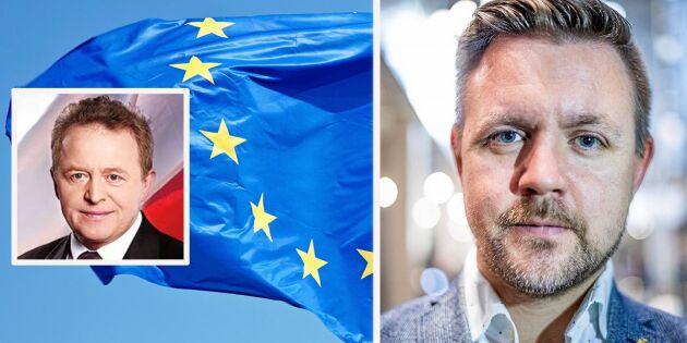 Federley: Woiciechowski kan bli EU-parlamentets offer