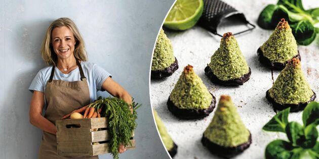 Gröna kokostoppar – baka saftigt och smakrikt med grönsaker