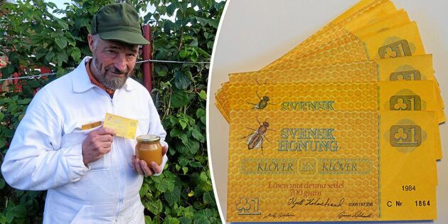 Honungsvalutan stärker lokalsamhället i Skattungbyn