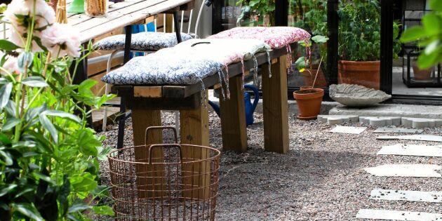 Bygg en enkel stomme till bord och bänk