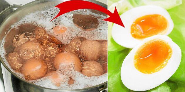 Guide: Steg för steg till det perfekt kokta ägget