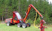 Ny skördare för självverksamma skogsägare