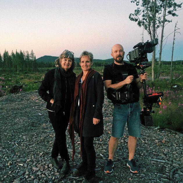 """Malin Ackermann spelar Sara Lidman i dokumentären """"Sara – med allt sitt väsen""""."""