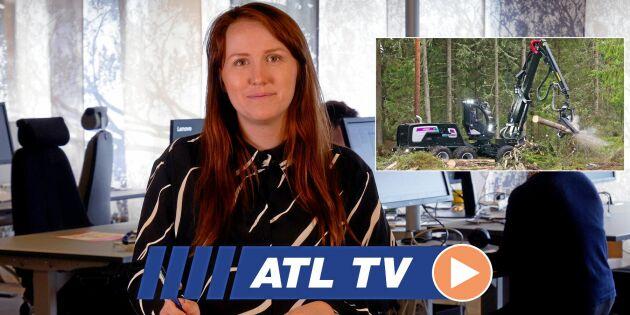 ATL TV: Hybridskördare spar bränsle