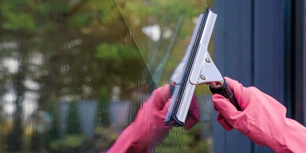 Gör din egen miljövänliga fönsterputs