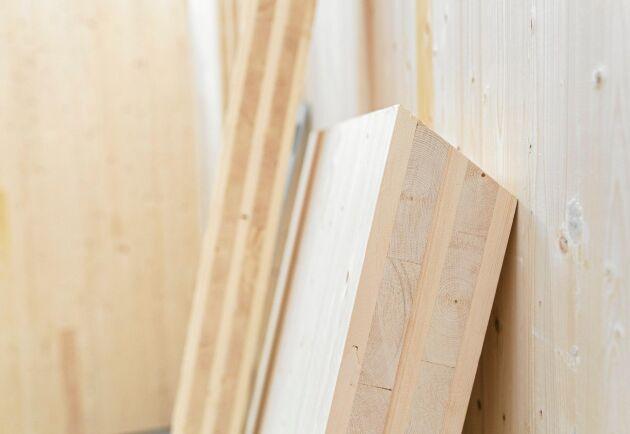 Martinsons i Västerbotten var länge ensamma om att tillverka KL-trä i Sverige.