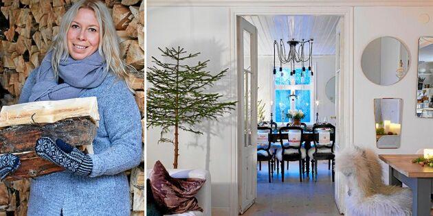 Julhemmet: Sobert och ljust i renoverade 1930-talsvillan
