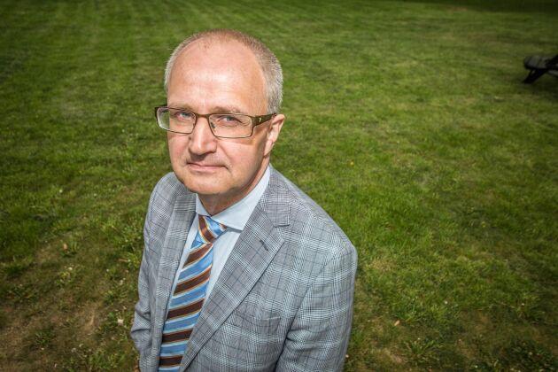 Palle Borgström, tillträdande ordförande för LRF
