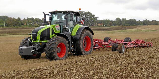 Traktor med inbyggd maskinlärare