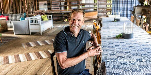 Så förvandlade Mats gårdens tomma loge – till succéföretag!