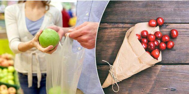 Plastbanta: 5 förbrukningsvaror du lätt byter ut