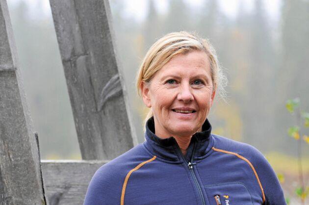 Kristin Olsson, projektledare för Skogsnolia.
