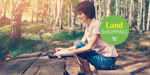 8 smarta prylar från Land Shopping
