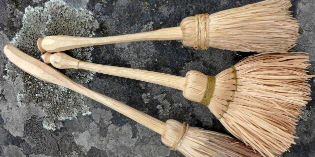 Lär av täljarmästaren: Gör en borste helt av hägg